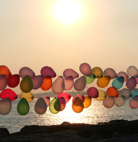 Sunset_balloons_by_TiaraMia