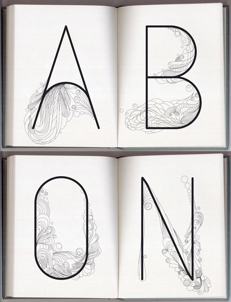 On-the-table-font