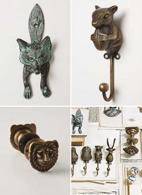 Anthropologie-hooks