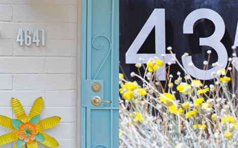 Modern-house-numbers