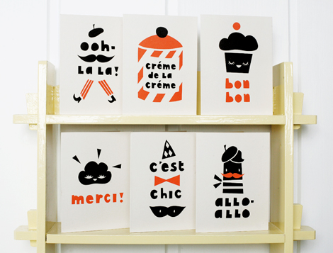 Darling-clementine-paris-cards