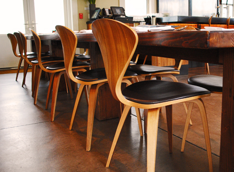 newest obsession cherner chairs  Oh Joy