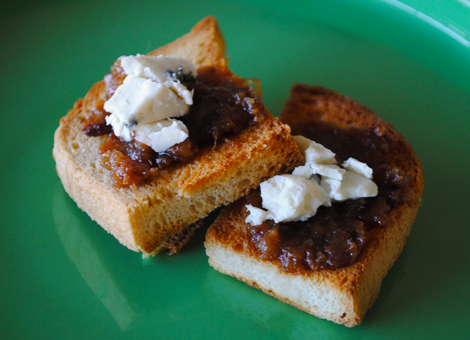 Bacon-jam-blue-cheese