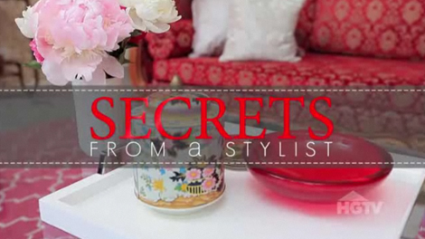 secrets from a stylist hgtv