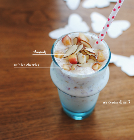 oh joy | rainier cherry milkshake