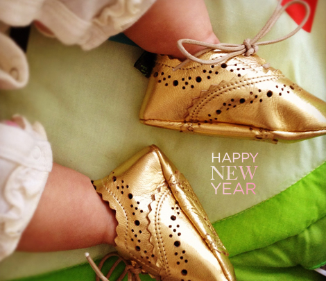 Gold-shoes-new-year