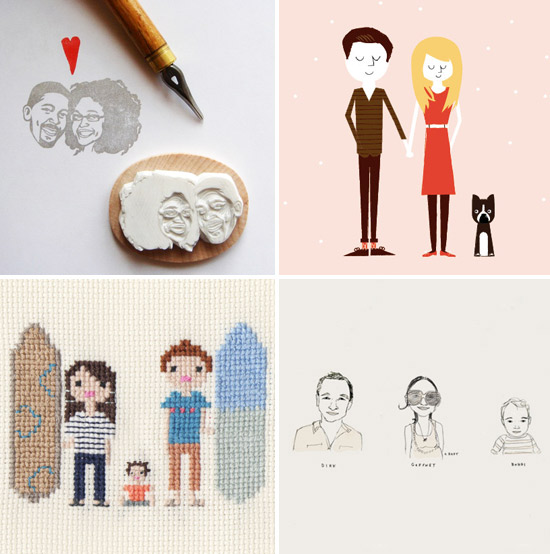 Custom-family-portrait-etsy