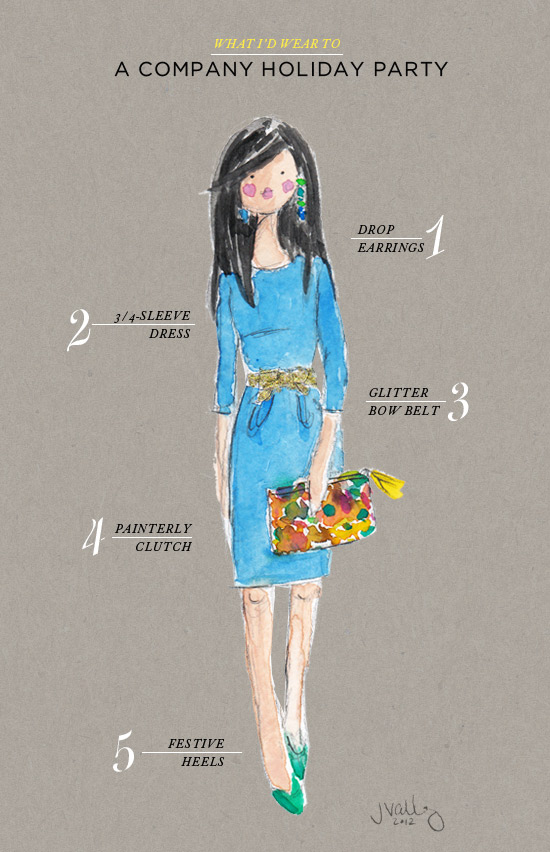 Oh Joy | What I'd Wear to a Company Holiday Party