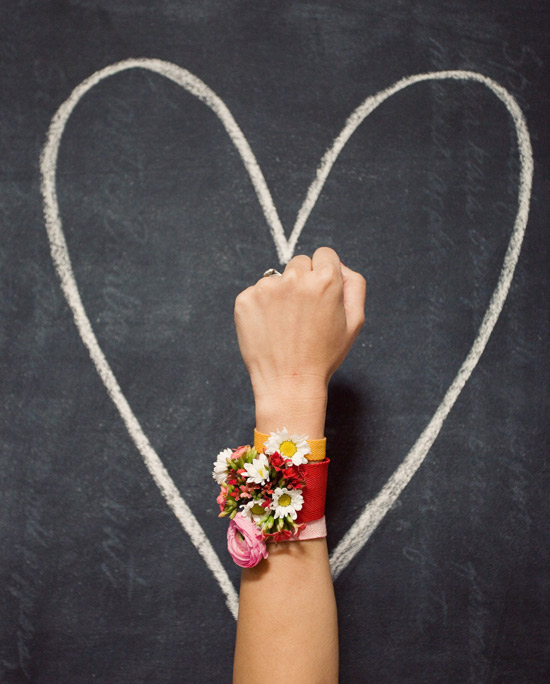 oh joy bash please floral friendship bracelets photo by bonnie tsang - Valentines Day Bracelet