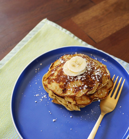 Oh Joy | banana, peanut butter, egg pancake