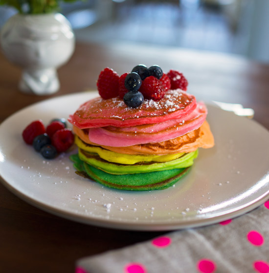 Oh Joy | Rainbow Pancakes
