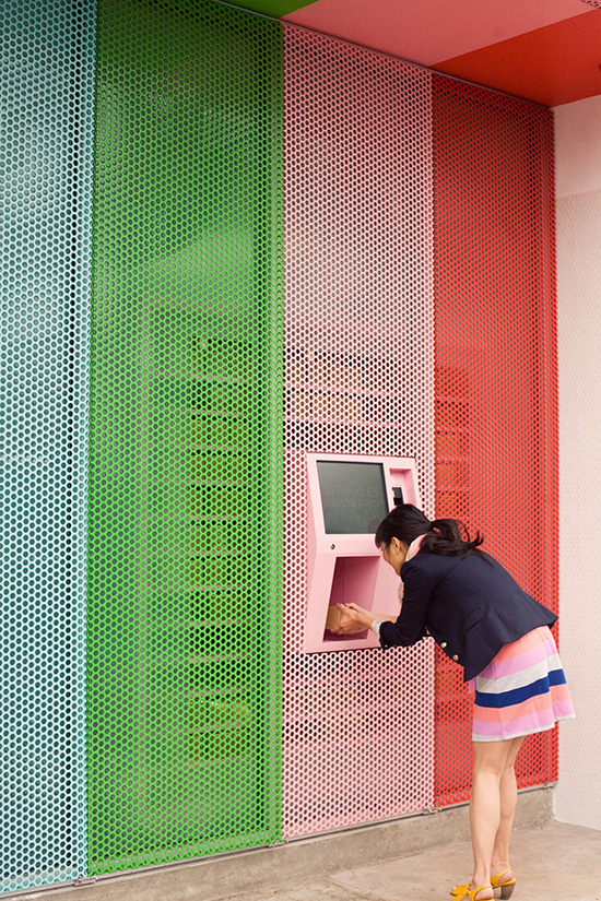 Oh Joy at Sprinkles ATM | photo by Bonnie Tsang