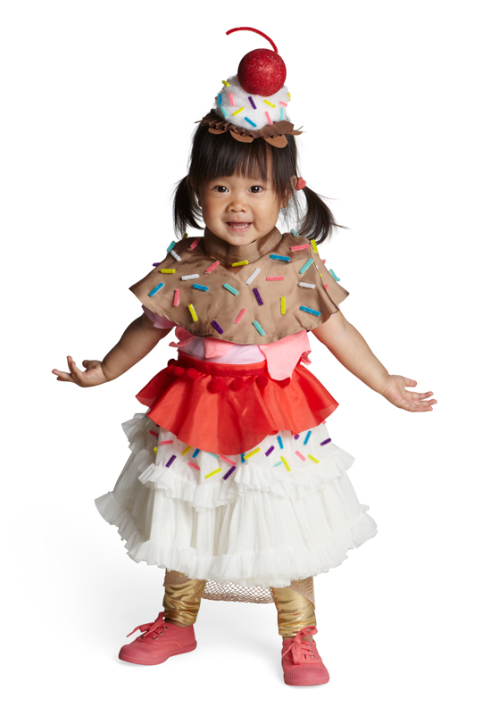 Real Simple | Ice Cream Sundae Halloween Costume | Oh Joy