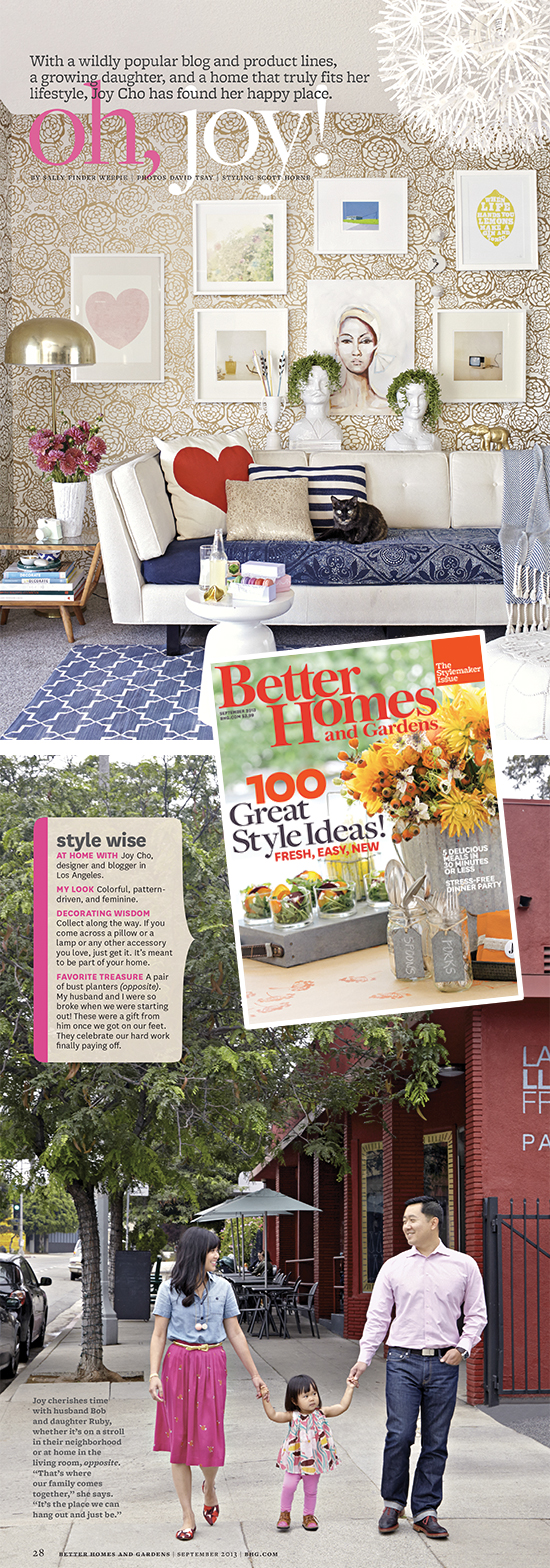 Oh Joy in Better Homes and Gardens