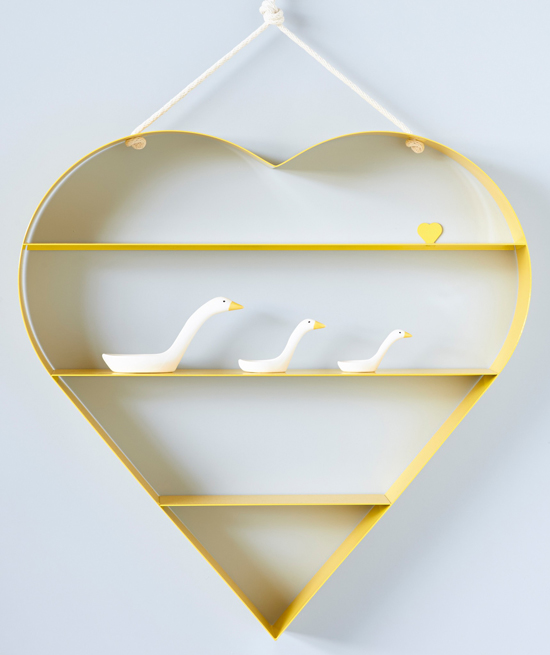 Bride and Wolfe Heart Shelf
