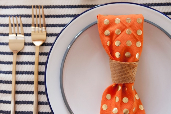 Oh Joy | A Sweet Thanksgiving Napkin Ring