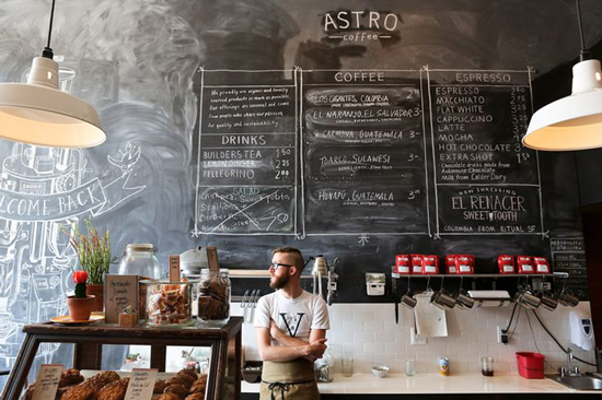 Astro Coffee Shop