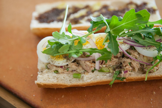 Fancy Tuna Sandwich Recipe by Black Hogg