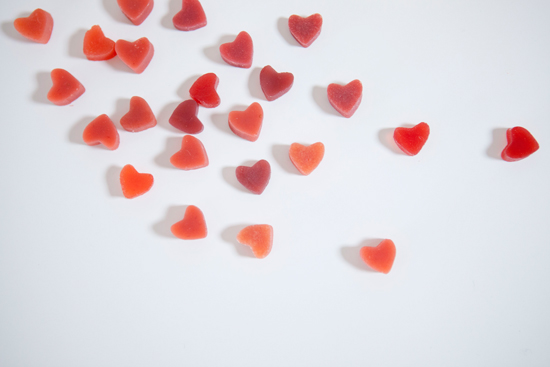 Oh Joy | Natural Gummy Hearts Recipe