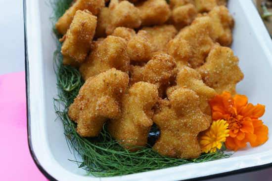 Mac and Cheese Nuggets by Heirloom LA