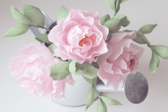 Paper flowers by Blooms in the Air