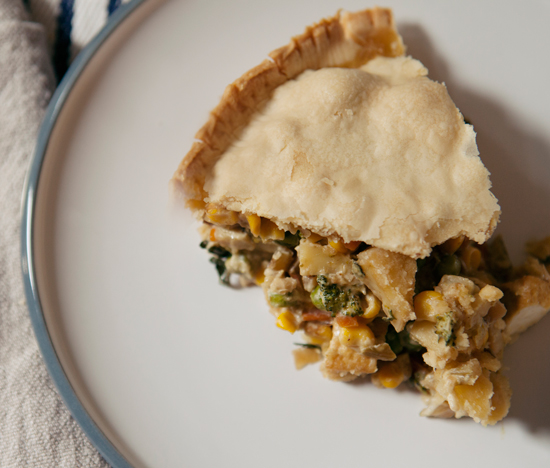 Oh Joy / Veggie Pot Pie with Thai Green Curry
