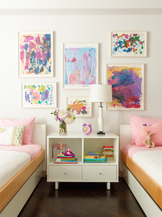 Children S Paintings Framed As Art By Sawyer Berson