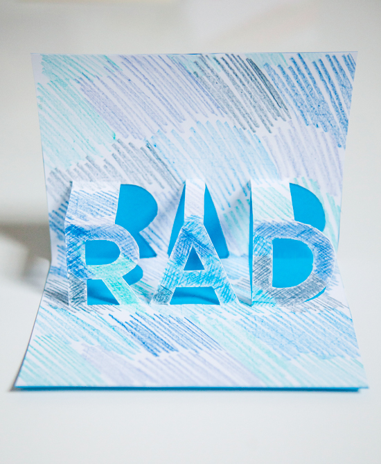 RAD Pop-up Card DIY / Oh Joy