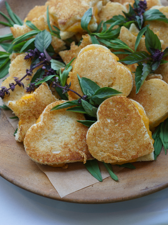 Mini Grilled Cheese Sandwiches by Heirloom LA
