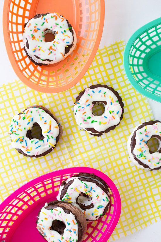 Oh Joy for Target baskets / Studio DIY ice cream sandwiches