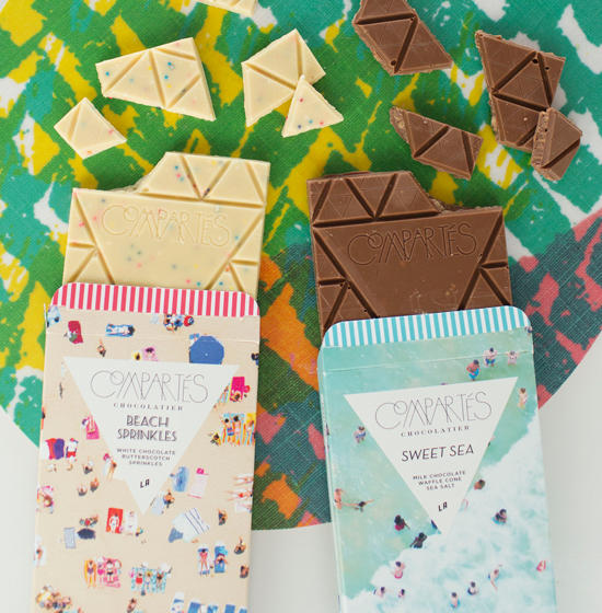 Gray Malin x Compartes Chocolate Bars