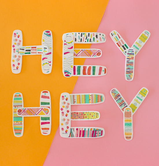 BAND-AID® Brand Adhesive Bandages by Oh Joy!
