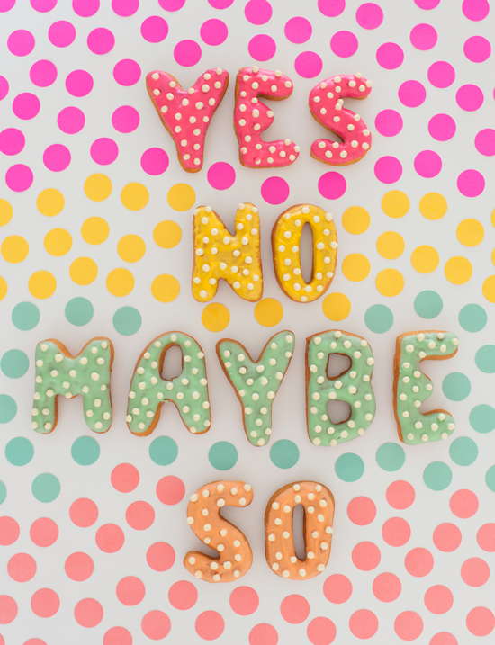 Oh Joy / YES NO MAYBE SO donuts