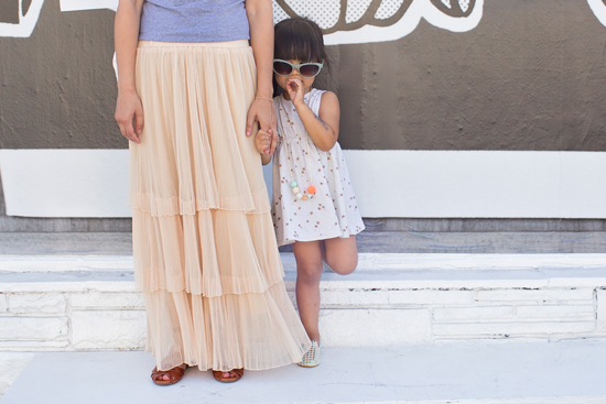 Dressing the Babe / Mama and Kid Style