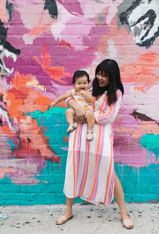 Dressing the Babe / Mama and Baby Style