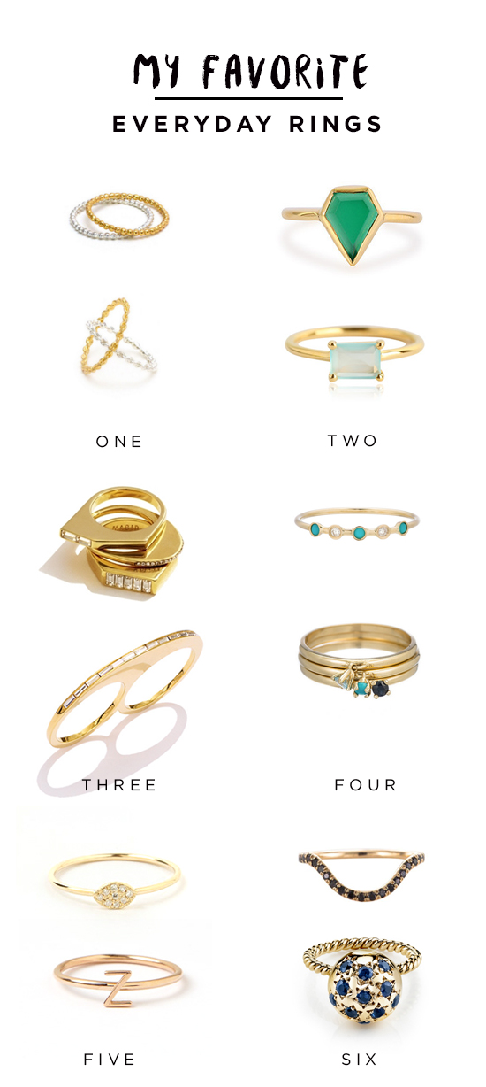 Everyday Ring (from budget to splurge)