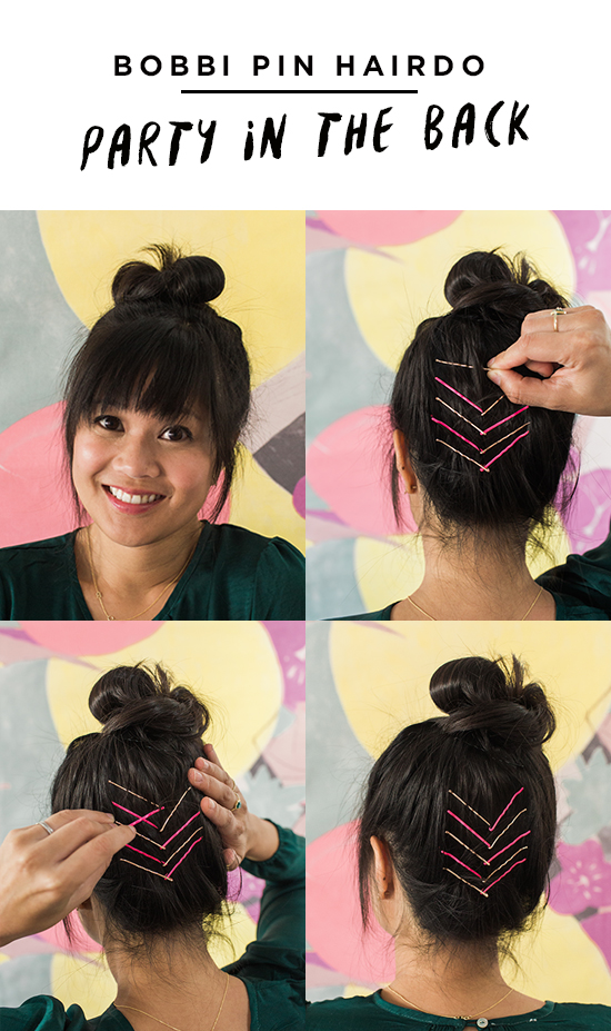 Bobbi Pin Hairstyle