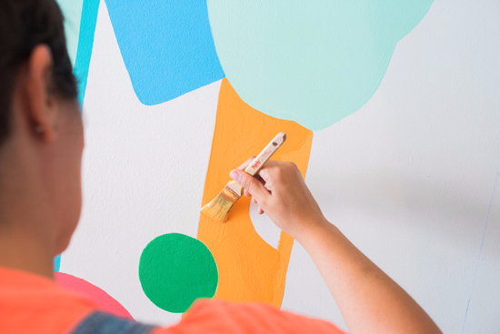 Oh Joy mural for the Southern California Children's Museum