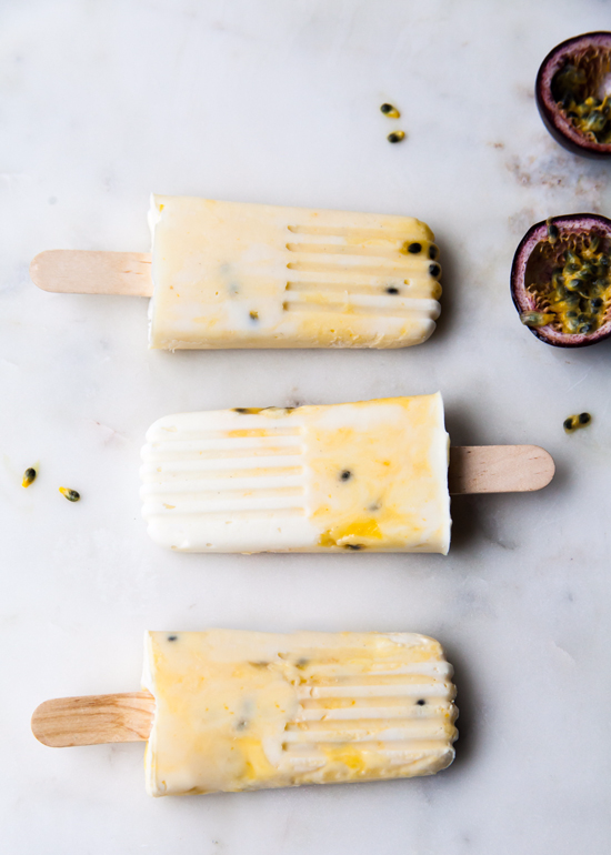 Passion Fruit Popsicles by Sweet Style CA