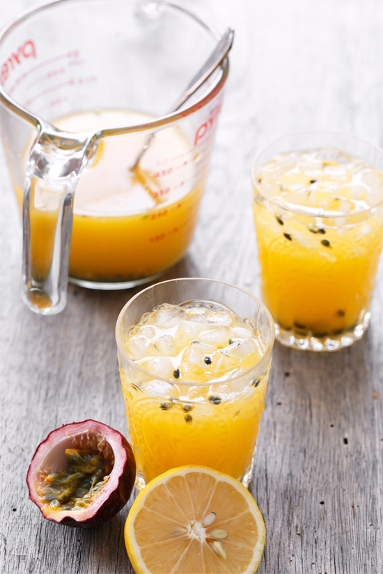 Passion Fruit lemonade by Love & Olive Oil
