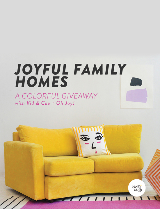 Luxury joyful homes giveaway