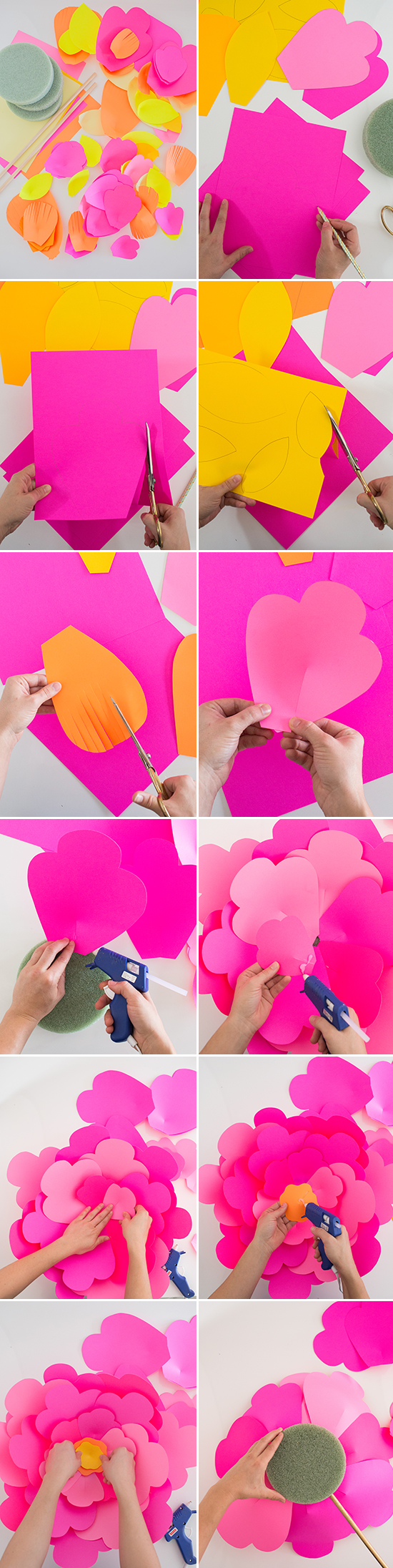 Giant paper flower diy oh joy giant flower diy 1 steps blog mightylinksfo