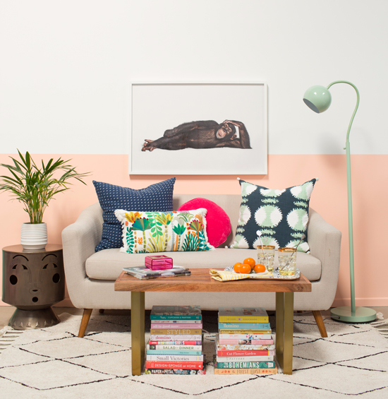 3 ways to style a bench / oh joy