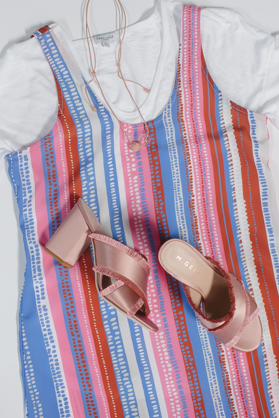Color Adventures: Pink and Blue Outfits
