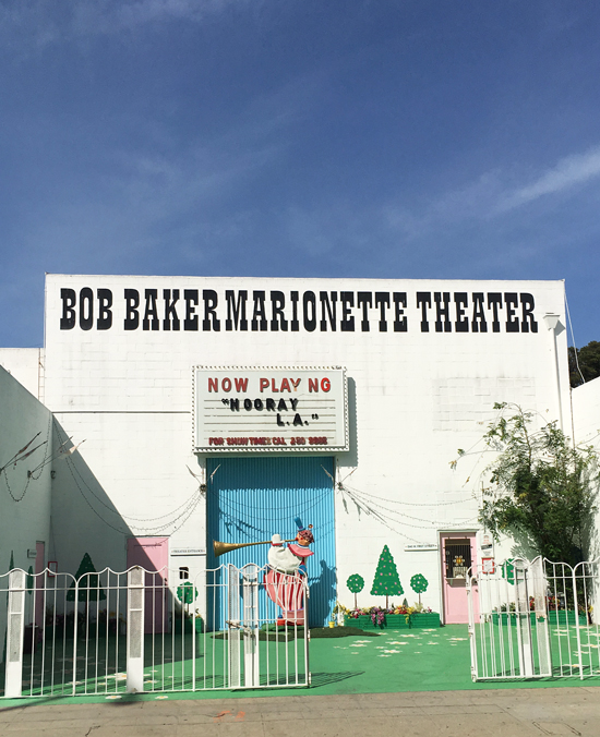 Bob Baker Marionette Theater / Los Angeles