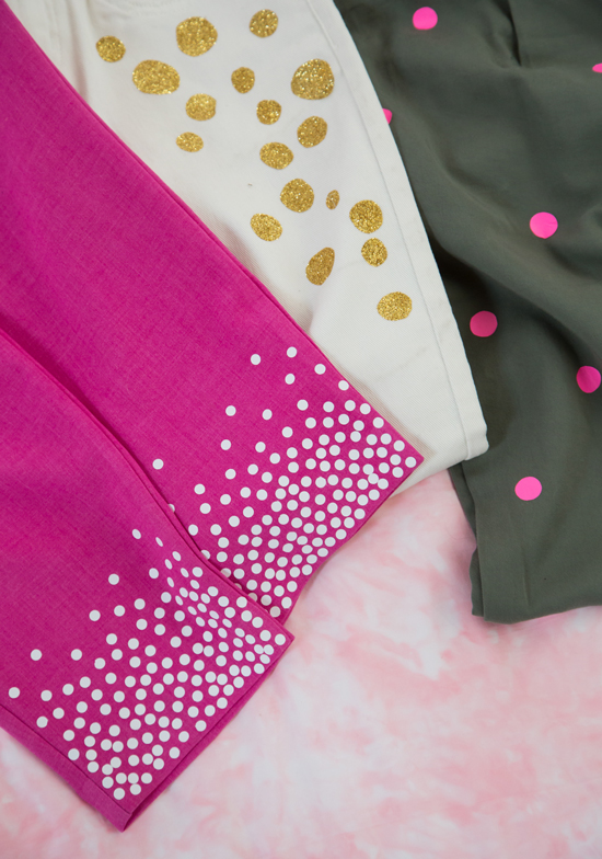 DIY Dotty Pants / Oh Joy!