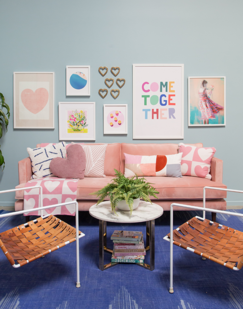 Pattern Adventures: A Heart Living Room! / Oh Joy!