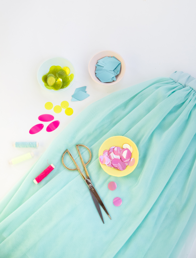 DIY Sequin Skirts... / Oh Joy!