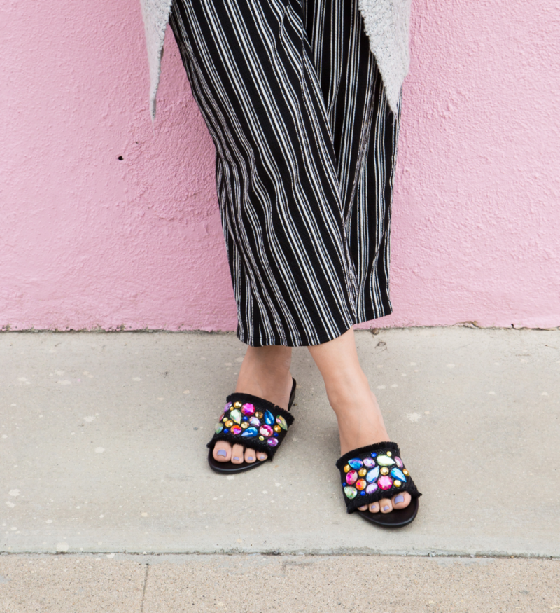 Everything you'll need to make DIY Gem Sandals! / Oh Joy!