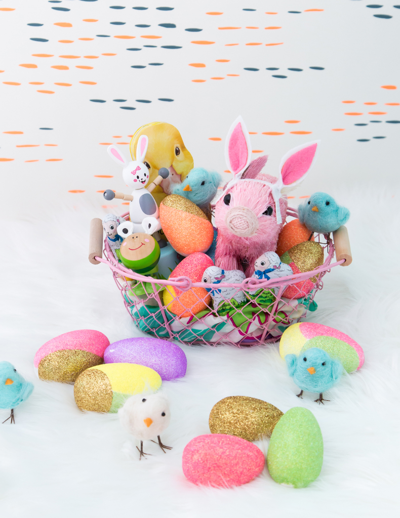 Cute, Colorful Easter Baskets / Oh Joy!